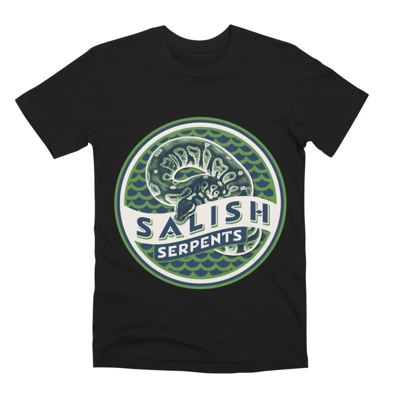 SALISH SERPENTS Men's Premium T-Shirt by Drawn to Scales