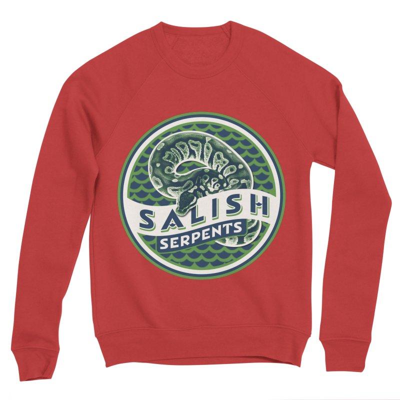 SALISH SERPENTS Men's Sponge Fleece Sweatshirt by Drawn to Scales
