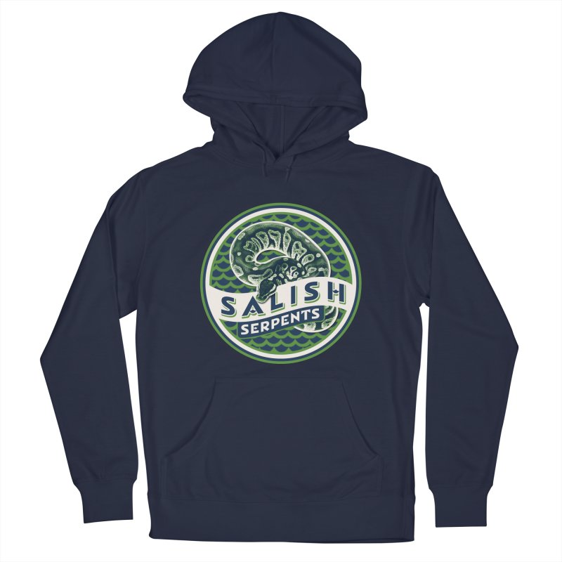 SALISH SERPENTS Men's Pullover Hoody by Drawn to Scales