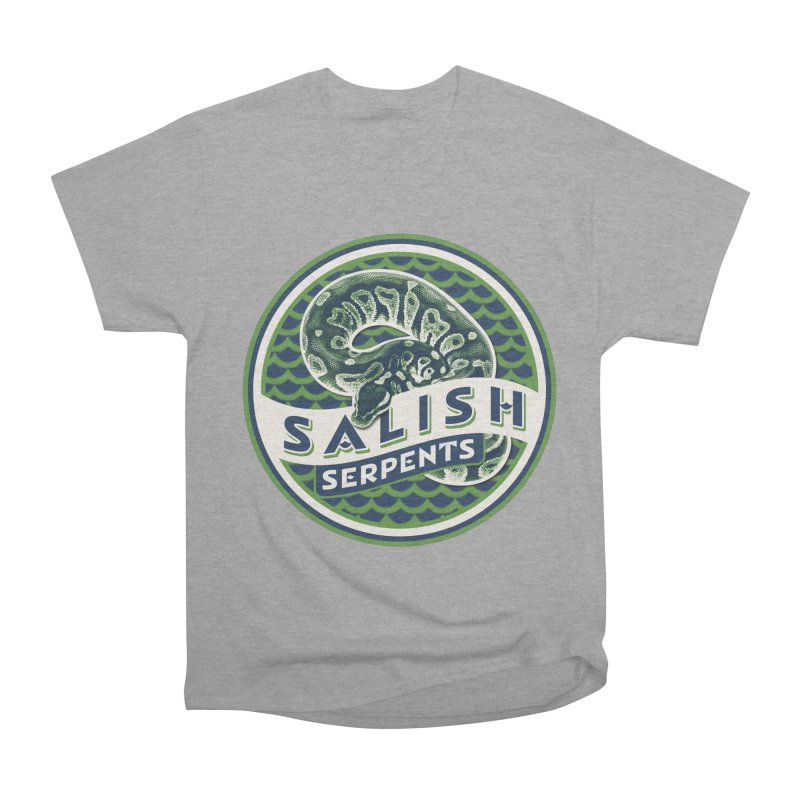 SALISH SERPENTS Women's T-Shirt by Drawn to Scales