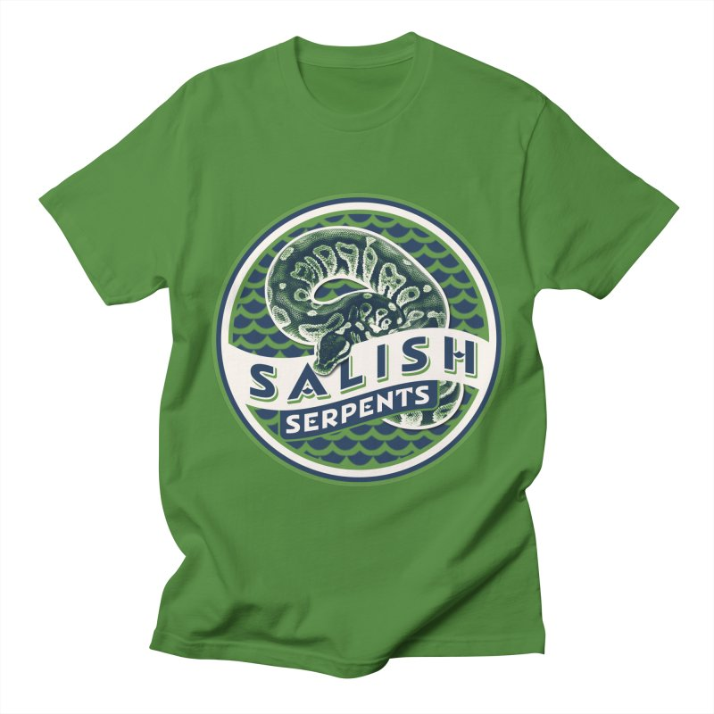 SALISH SERPENTS Women's Regular Unisex T-Shirt by Drawn to Scales