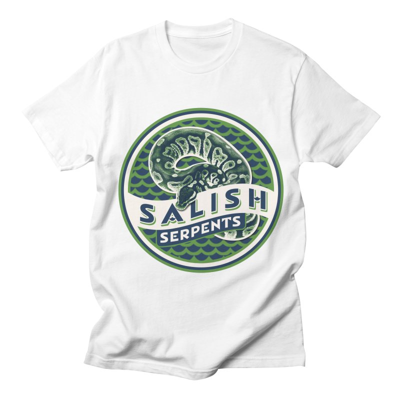 SALISH SERPENTS Men's T-Shirt by Drawn to Scales