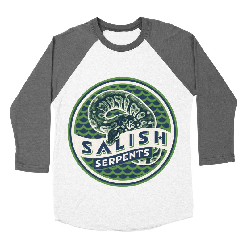 SALISH SERPENTS Women's Longsleeve T-Shirt by Drawn to Scales