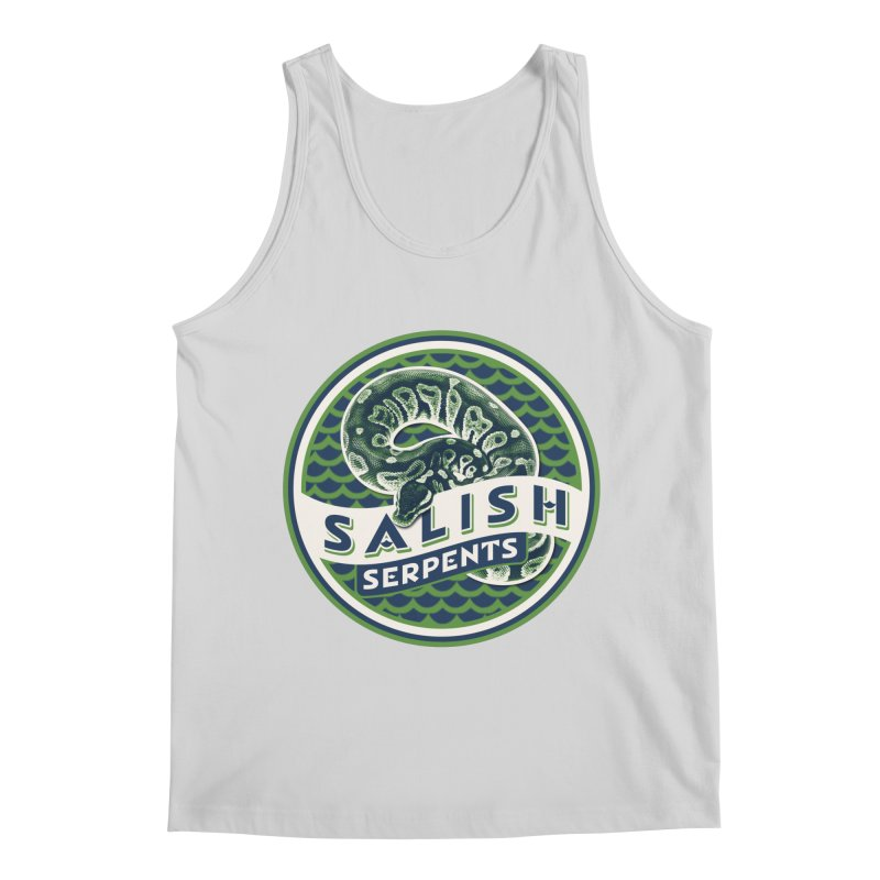SALISH SERPENTS Men's Regular Tank by Drawn to Scales