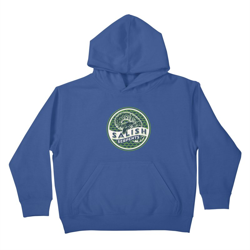SALISH SERPENTS Kids Pullover Hoody by Drawn to Scales