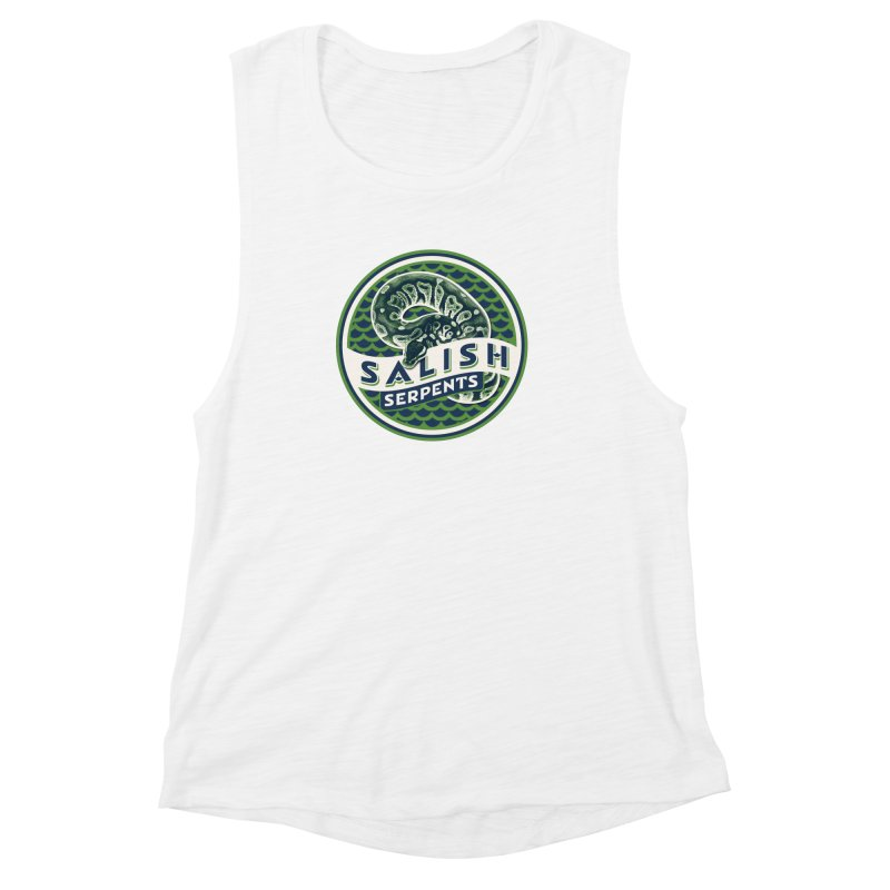 SALISH SERPENTS Women's Muscle Tank by Drawn to Scales