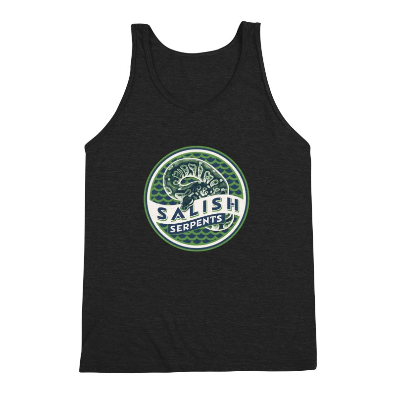 SALISH SERPENTS Men's Triblend Tank by Drawn to Scales