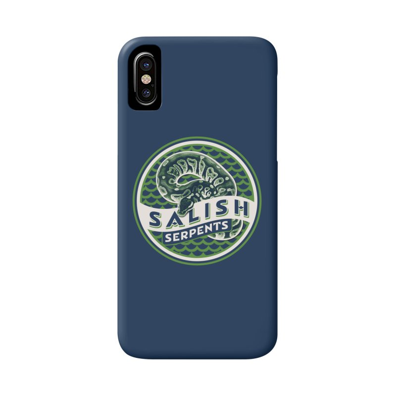 SALISH SERPENTS Accessories Phone Case by Drawn to Scales