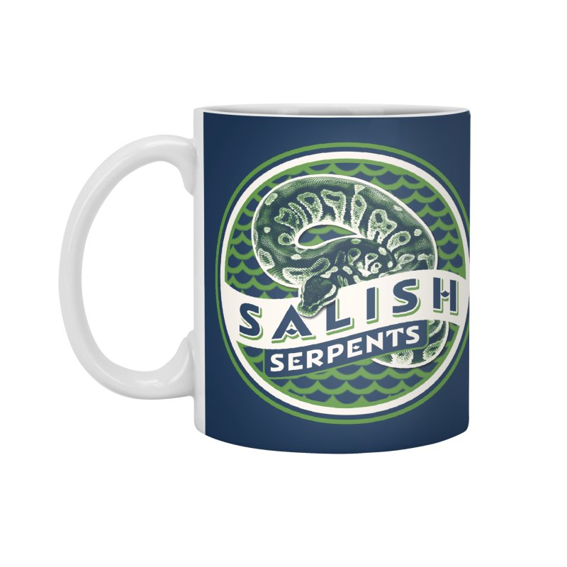 SALISH SERPENTS Accessories Standard Mug by Drawn to Scales