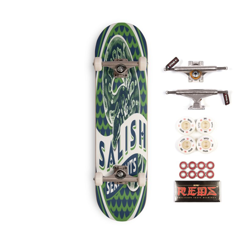 SALISH SERPENTS Accessories Complete - Pro Skateboard by Drawn to Scales
