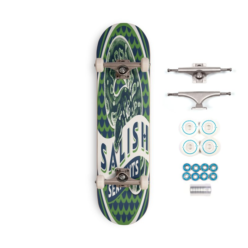 SALISH SERPENTS Accessories Complete - Basic Skateboard by Drawn to Scales