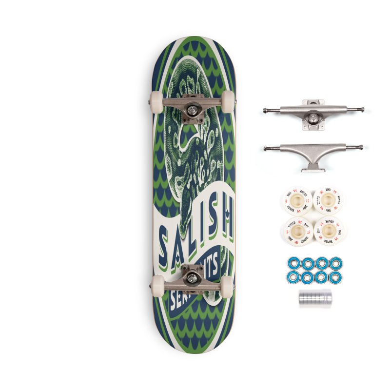 SALISH SERPENTS Accessories Complete - Premium Skateboard by Drawn to Scales