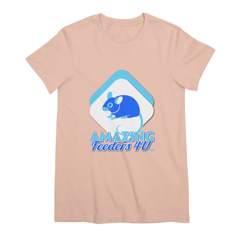 Amazing Feeders 4U Women's Premium T-Shirt by Drawn to Scales