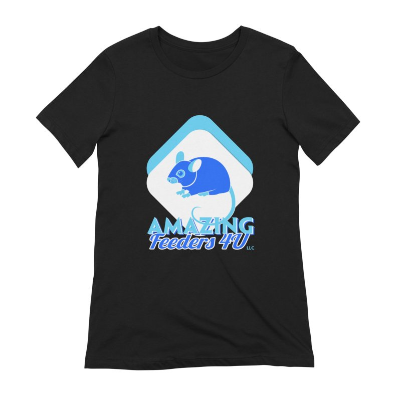 Amazing Feeders 4U Women's Extra Soft T-Shirt by Drawn to Scales