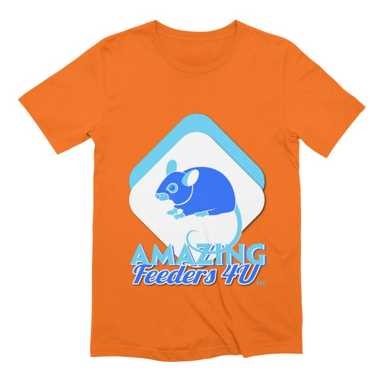 Amazing Feeders 4U Men's Extra Soft T-Shirt by Drawn to Scales