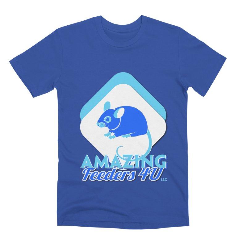 Amazing Feeders 4U Men's Premium T-Shirt by Drawn to Scales