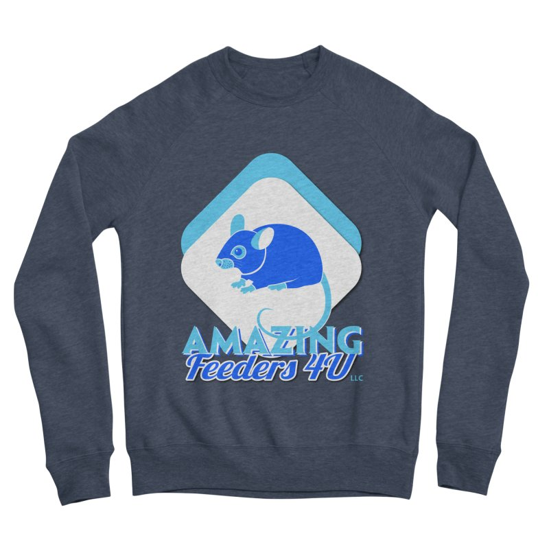Amazing Feeders 4U Men's Sponge Fleece Sweatshirt by Drawn to Scales
