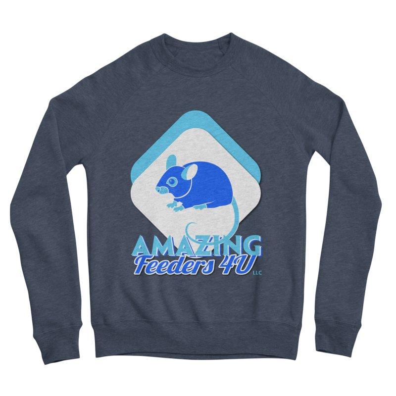 Amazing Feeders 4U Women's Sponge Fleece Sweatshirt by Drawn to Scales