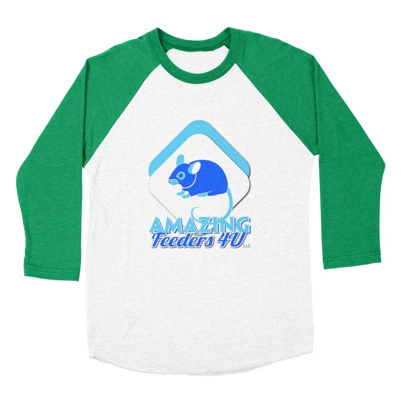 Amazing Feeders 4U Men's Baseball Triblend Longsleeve T-Shirt by Drawn to Scales