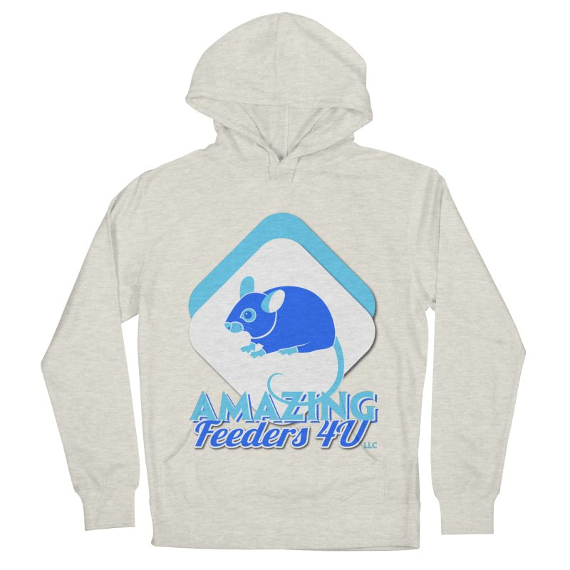 Amazing Feeders 4U Men's French Terry Pullover Hoody by Drawn to Scales