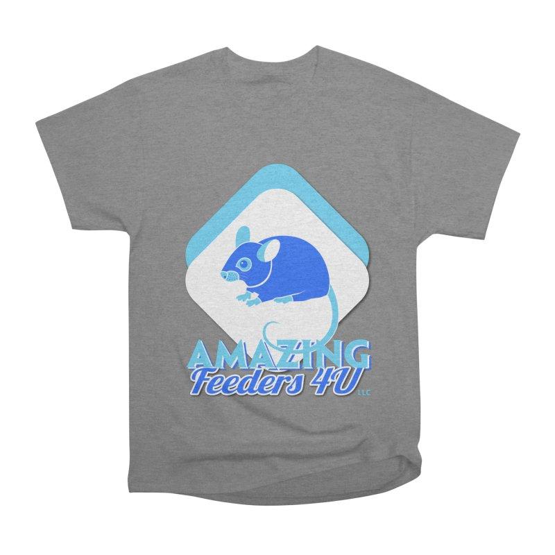 Amazing Feeders 4U Men's Heavyweight T-Shirt by Drawn to Scales