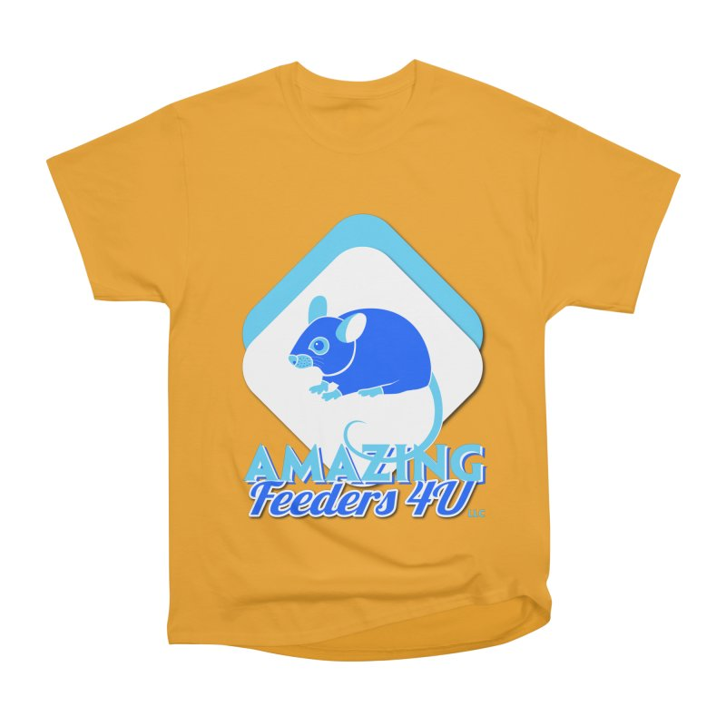 Amazing Feeders 4U Women's Heavyweight Unisex T-Shirt by Drawn to Scales