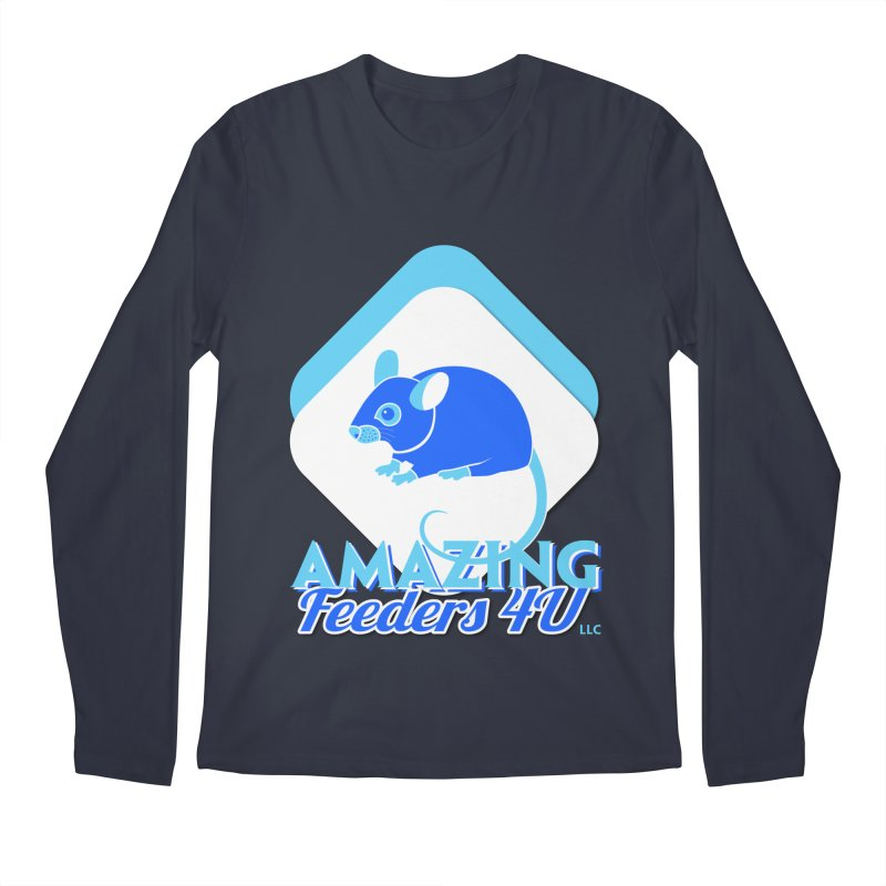 Amazing Feeders 4U Men's Regular Longsleeve T-Shirt by Drawn to Scales