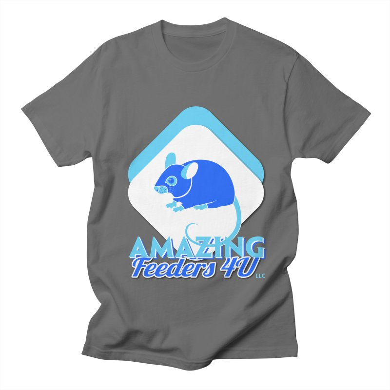 Amazing Feeders 4U Men's T-Shirt by Drawn to Scales