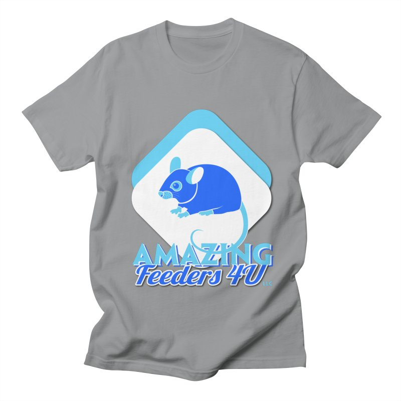 Amazing Feeders 4U Women's Regular Unisex T-Shirt by Drawn to Scales