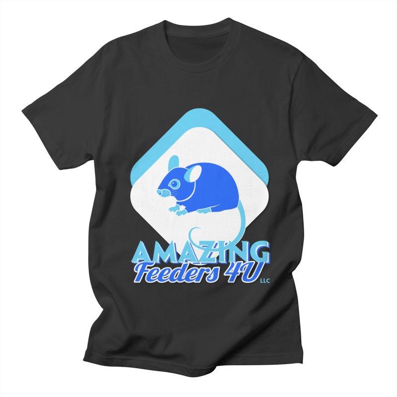 Amazing Feeders 4U Men's Regular T-Shirt by Drawn to Scales