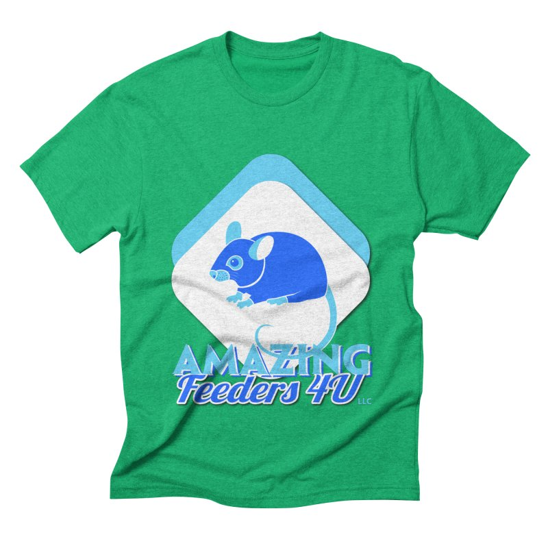Amazing Feeders 4U Men's Triblend T-Shirt by Drawn to Scales