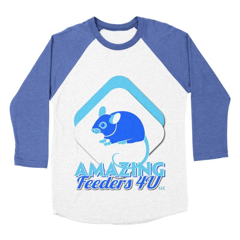 Amazing Feeders 4U Women's Baseball Triblend Longsleeve T-Shirt by Drawn to Scales