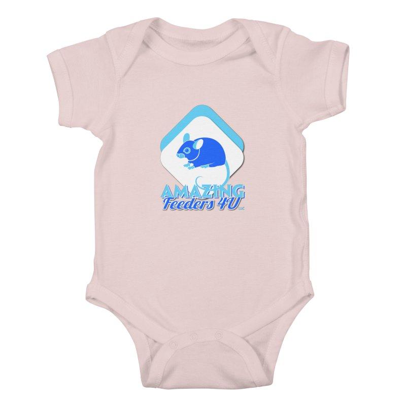 Amazing Feeders 4U Kids Baby Bodysuit by Drawn to Scales