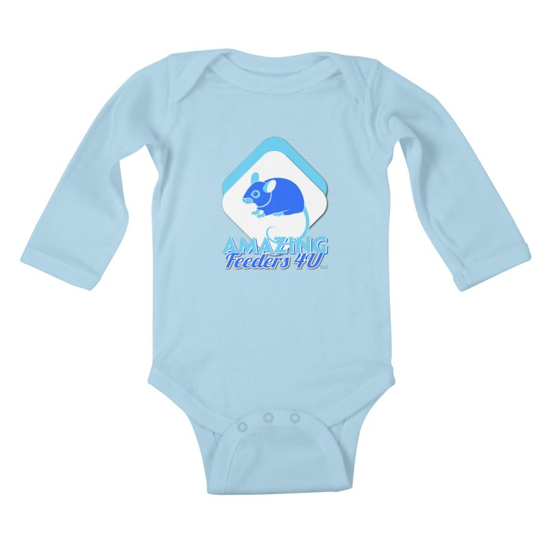 Amazing Feeders 4U Kids Baby Longsleeve Bodysuit by Drawn to Scales