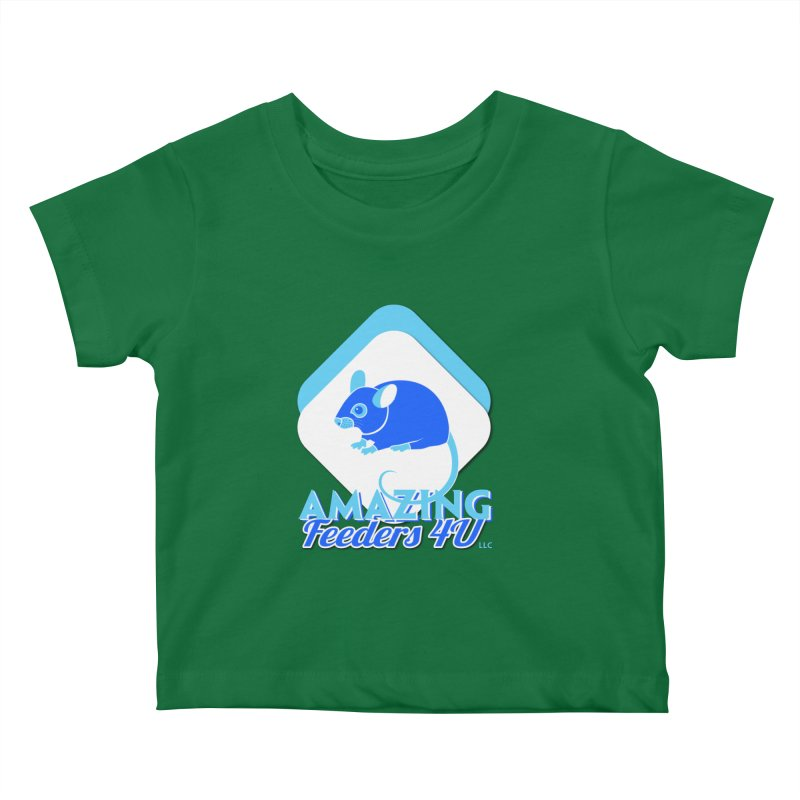 Amazing Feeders 4U Kids Baby T-Shirt by Drawn to Scales