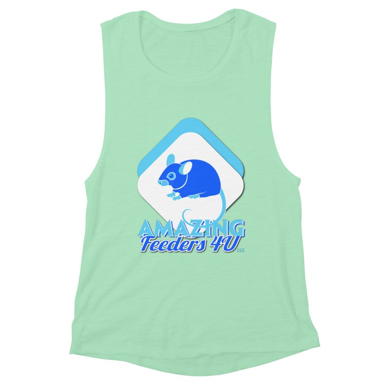 Amazing Feeders 4U Women's Muscle Tank by Drawn to Scales