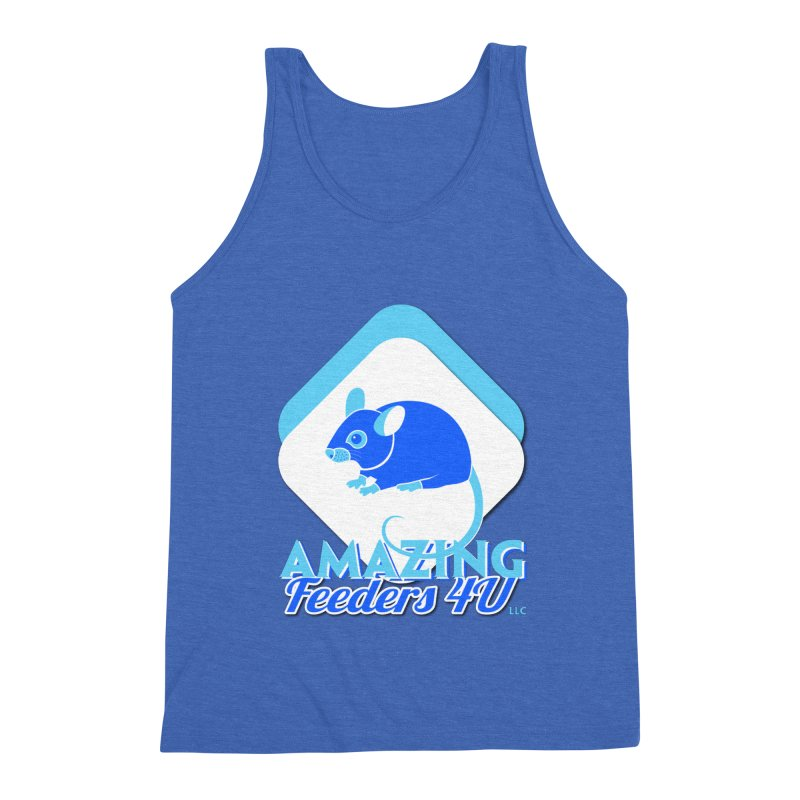 Amazing Feeders 4U Men's Triblend Tank by Drawn to Scales