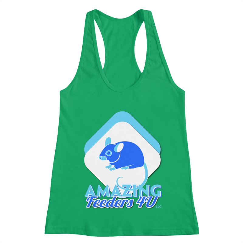 Amazing Feeders 4U Women's Tank by Drawn to Scales