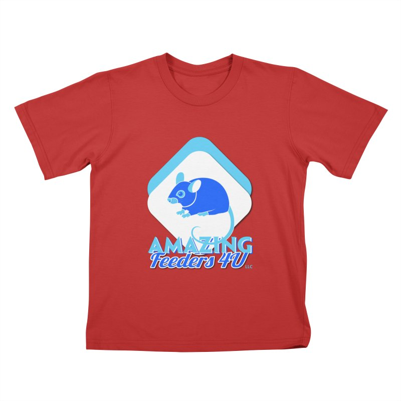Amazing Feeders 4U Kids T-Shirt by Drawn to Scales