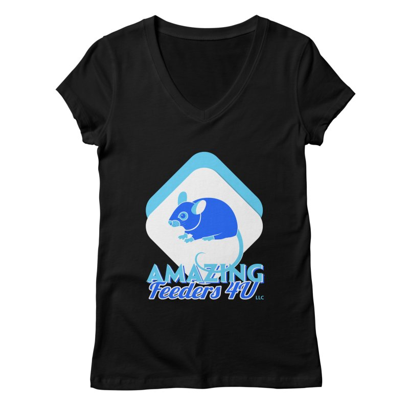 Amazing Feeders 4U Women's V-Neck by Drawn to Scales