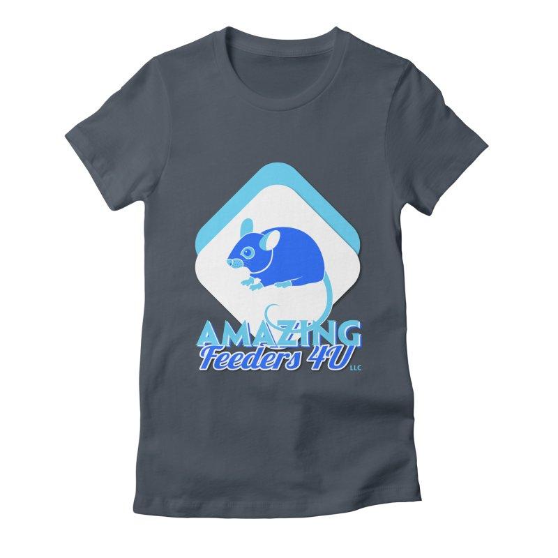Amazing Feeders 4U Women's T-Shirt by Drawn to Scales