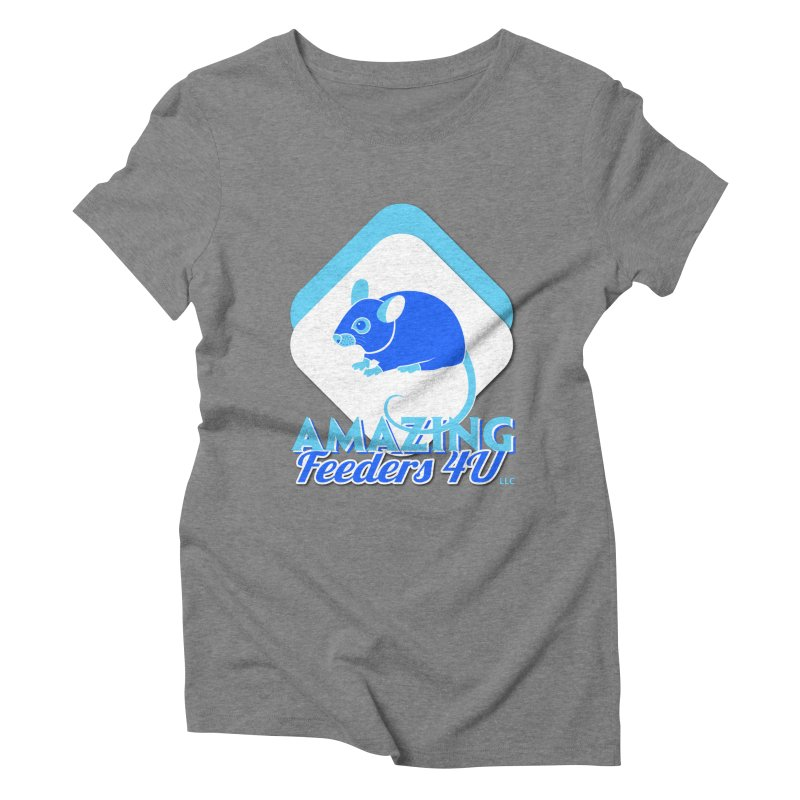 Amazing Feeders 4U Women's Triblend T-Shirt by Drawn to Scales
