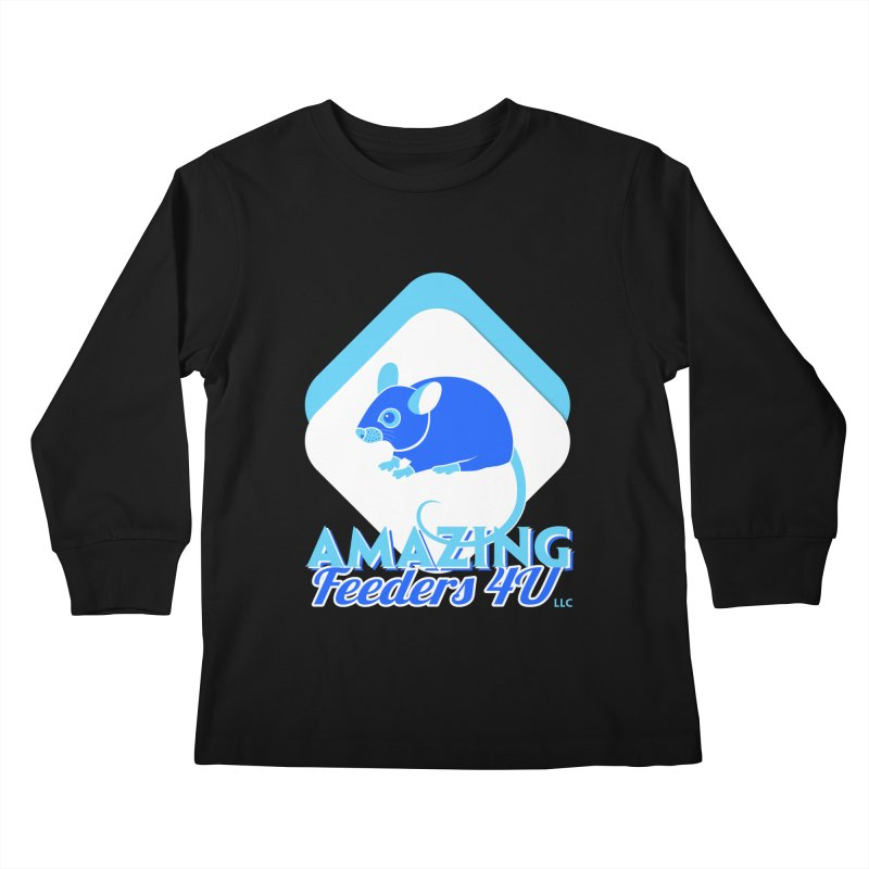 Amazing Feeders 4U Kids Longsleeve T-Shirt by Drawn to Scales