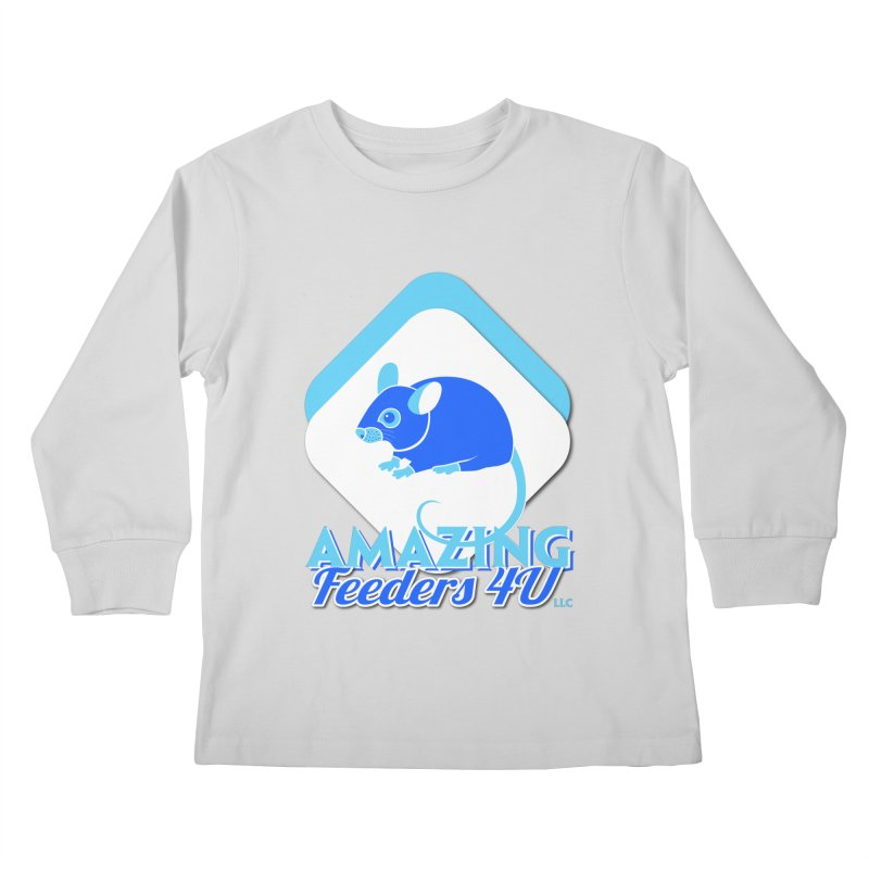 Amazing Feeders 4U Kids Longsleeve T-Shirt by Drawn to Scales