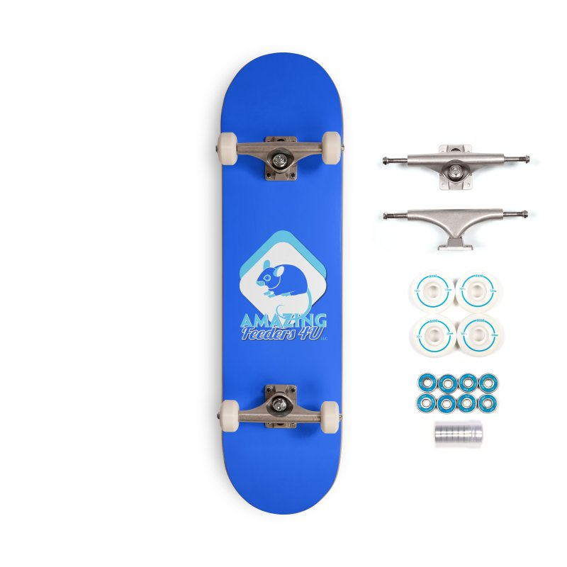 Amazing Feeders 4U Accessories Complete - Basic Skateboard by Drawn to Scales