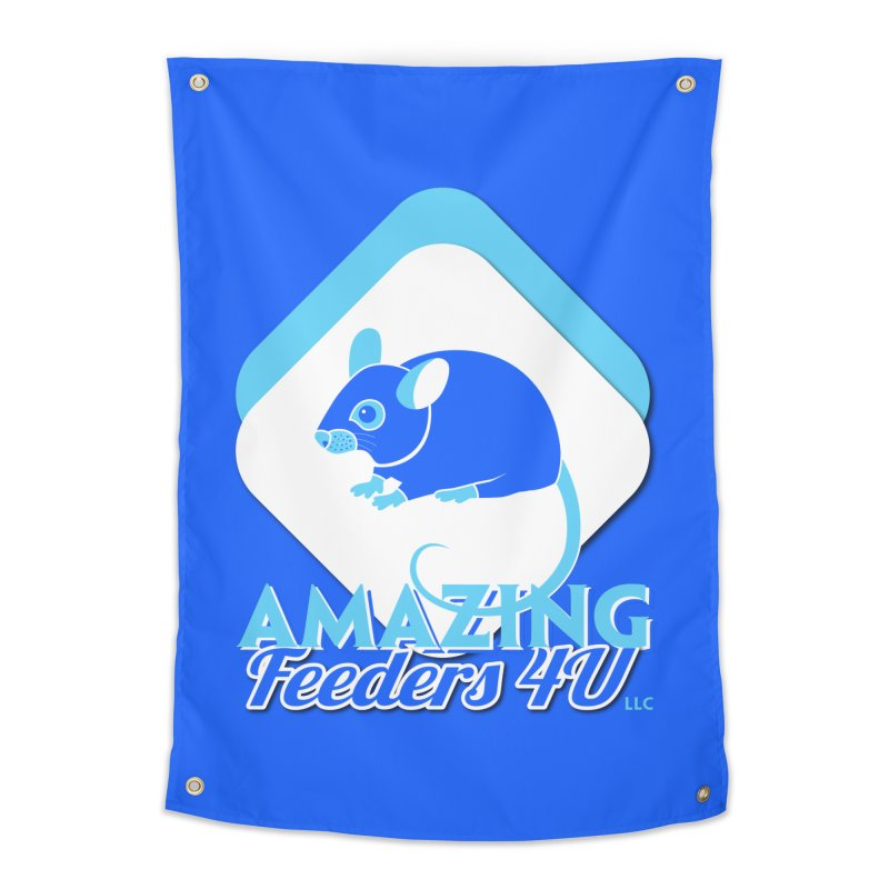 Amazing Feeders 4U Home Tapestry by Drawn to Scales