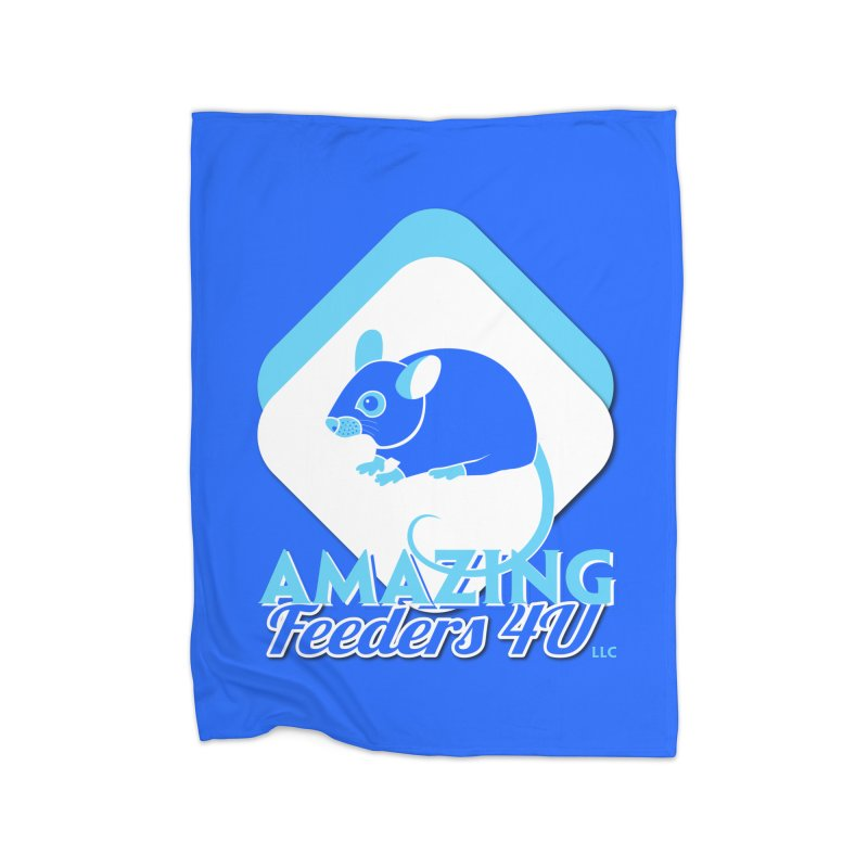Amazing Feeders 4U Home Fleece Blanket Blanket by Drawn to Scales