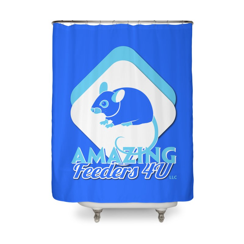 Amazing Feeders 4U Home Shower Curtain by Drawn to Scales