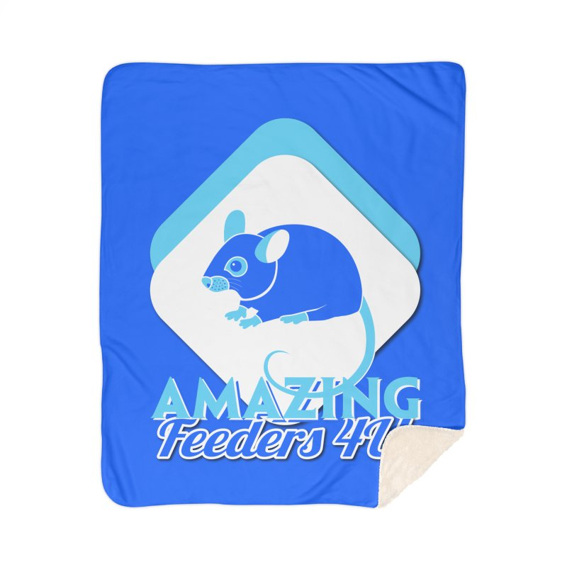 Amazing Feeders 4U Home Sherpa Blanket Blanket by Drawn to Scales