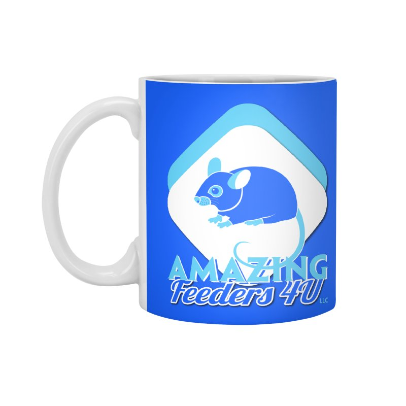 Amazing Feeders 4U Accessories Standard Mug by Drawn to Scales